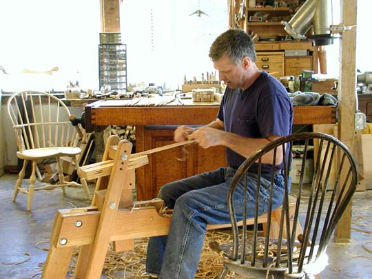 My Name Is Chris Harter And I Own And Operate A One Man Windsor Chair And  Fine Furniture Making Shop. I Have Specialized In Reproducing The  Traditional ...