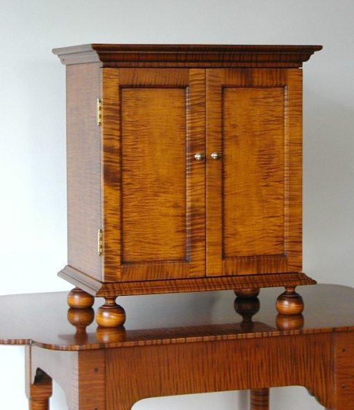 Spice Cabinet Tiger Maple