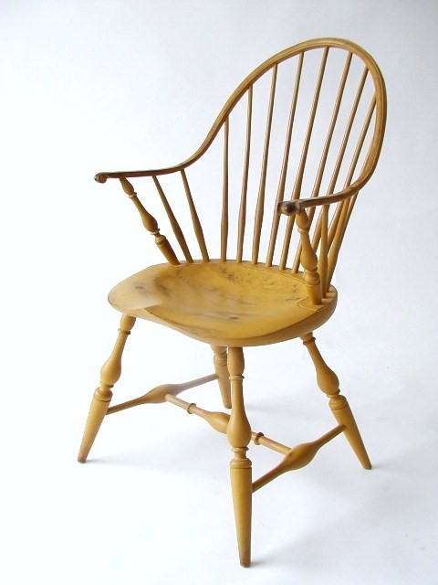 Continuous Arm Chair with Oval Seat  CH 8b