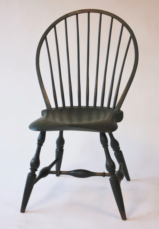 Merveilleux Bow Back Side Chair With Beehive Back CH1a