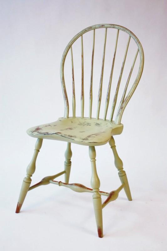 Keyhole Back Side Chair CH1b