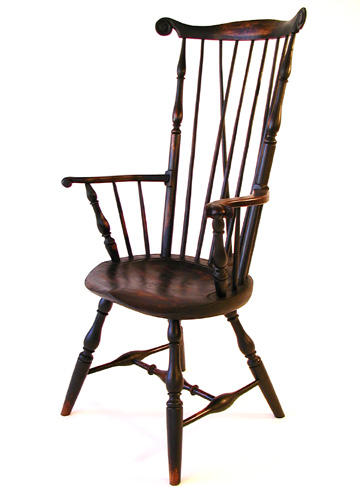 Philadelphia High Back Arm Chair