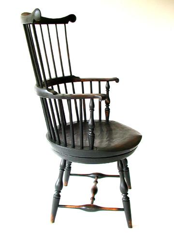 Thomas Jefferson Swivel Chair CH 17