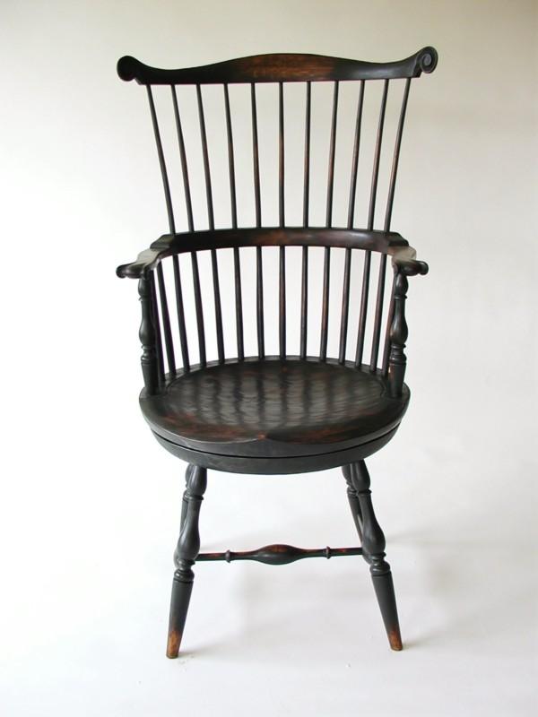 Thomas Jefferson Swivel Chair Ch 17 Chris Harter